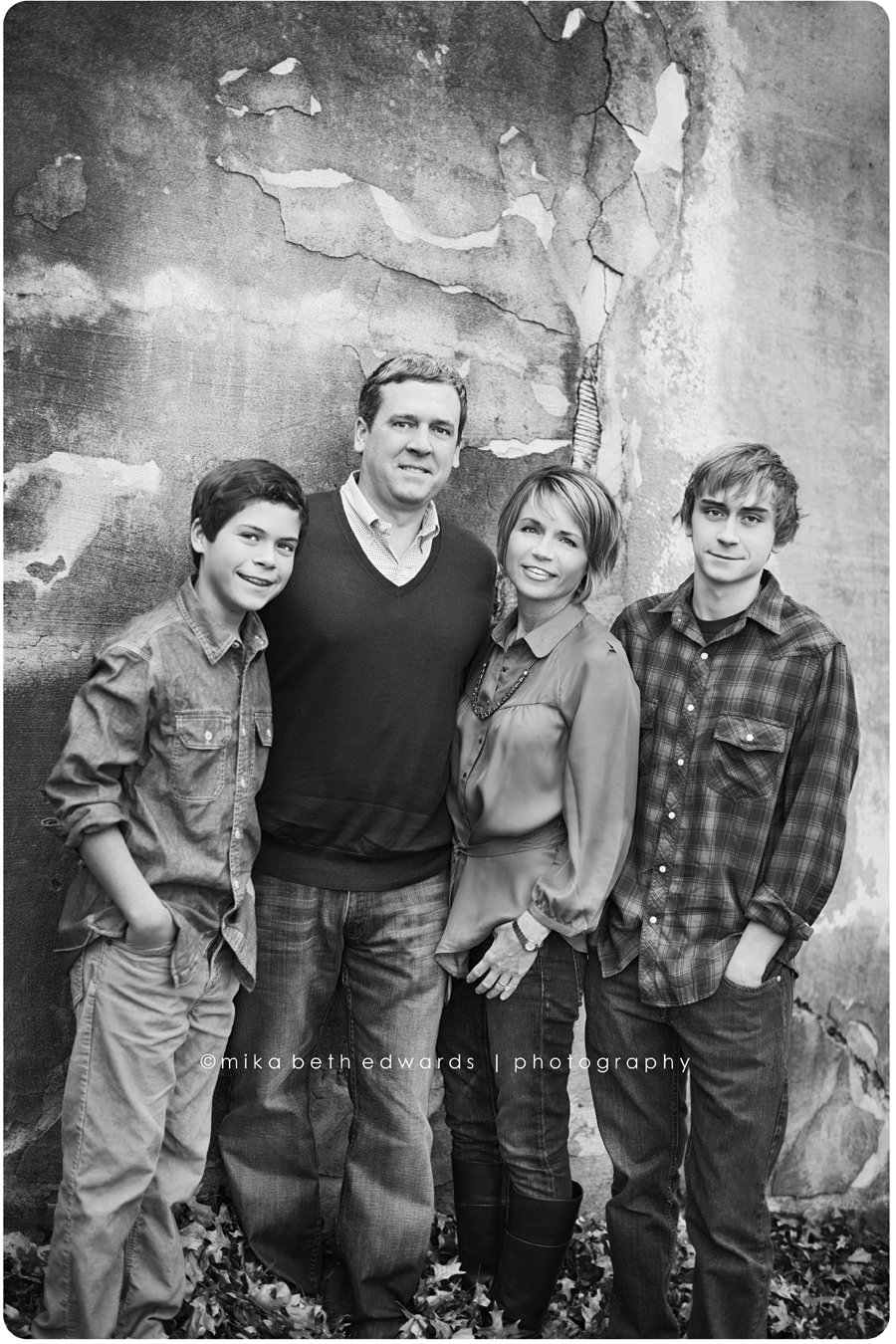 The Rickard Family Fort Smith Arkansas Family
