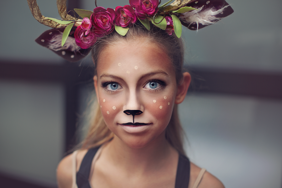 deer make up tutorial